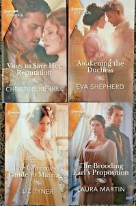 2020 HARLEQUIN HISTORICAL ROMANCE PAPERBACK 4 BOOK LOT FREE SHIPPING
