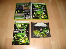 COMMAND & CONQUER 3 TIBERIUM WARS DE EA GAMES PARA LA XBOX 360 USADO COMPLETO