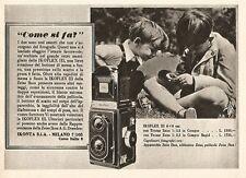 W2799 ZEISS IKON Ikoflex III - Come si fa?... - Pubblicità del 1939 - Old advert