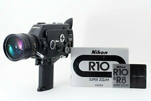"""Exc+1"" Nikon R10 Super 8mm Movie Camera w/Zoom C Macro 7-70mm f/1.4 from Japan"