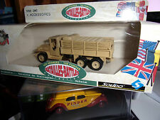 Solido # 6109 GMC+ ACCESSOIRES Made in France 1:43 WWII TANK NEUF En BOITE
