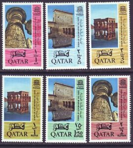 Qatar 1965 SC 47-52 MH Set UNESCO