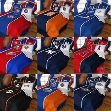 MLB Baseball Comforter Set - Sports Team Logo Comforter Pillow Cover Bedroom