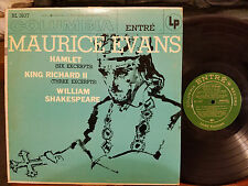 Maurice Evans -William Shakespeare: Hamlet & King Richard II (LP) VG-/VG+