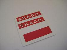 Dinky 351 Shado U.F.O.  [ Red Square ] Stickers - B2G1F