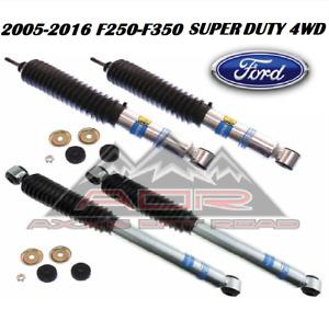 Bilstein Front/Rear 5100 Series Shocks for 2005-2016 Ford F-250 F-350 Super Duty
