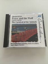 Promofiev - Peter And The Wolf - Saint Saenz - Carnival Of The Animals CD ASV VG