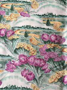 Beth Bruske David Textiles L Frank Baum Oz Emerald City 2000 Quilting Cotton