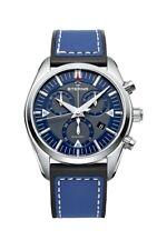 Eterna 1250.41.81.1303 KonTiki Men's 42mm White Dial Leather Watch