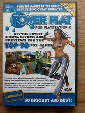 PS2 PlayStation 2 Blockbuster Power Play  Game Cheats Disc - Tested