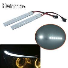 2Pcs Xenon White LED Eyelid Eyebrow Modules For BMW E60 LCI 5 Series 2008-2010