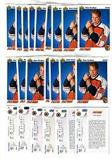 1X PETER FORSBERG 1991 92 Upper Deck #64 Rookie RC NMMT Lots Available Avalanche