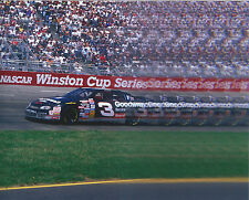 DALE EARNHARDT SR. CAR 8 X 10 PHOTO WITH ULTRA PRO TOPLOADER