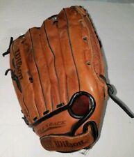 "P2 Wilson A2478 XXL 13 1/2"" RH Thrower Top Grade Leather Softball Dual Hinge"