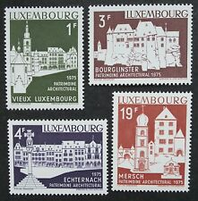 Luxembourg (1974) European Architectural Heritage / Buildings - Mint (MNH)
