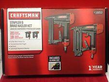 Craftsman (Air) 20 Gauge Stapler and 18 Gauge Braider Nailer