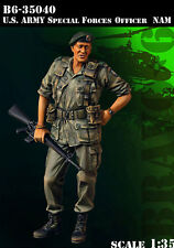 Bravo6 1:35 US Special Forces SF Officer Vietnam '68 - Resin Figure #B6-35040