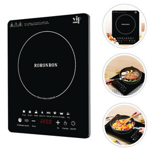 Electric Induction Hob 2200w Portable Digital Touch Single Cooker Hot Plate Hobs