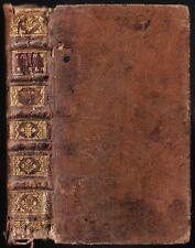 La SAINTE BIBLE par Mr De SACY Esther Job les Pseaumes ou Psaumes 1722 T.5 RARE