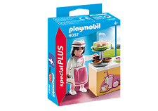 Playmobil Special 9097 Pastry Chef Repostero cake doughnut NEW BOXED Worldwide