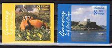 Guernsey Scott 626a-628a Mint NH booklets (Catalog Value $16.25)
