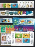 Hong Kong 1993 New Year of Rooster Whole Year Full stamps set Cock