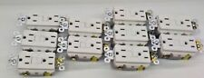 LOT OF 10 Pass Seymour AF152TRW AFCI Tamper Resistant Self Test WHITE FREE SHIP