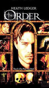 The Order (VHS, 2003, Spanish Subtitled)