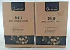Ledertek 50 LED Battery String Lights, Multicolored, Waterproof A4
