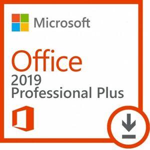Microsoft Office 2019 & 2016 & 365 Professional Plus -READ DESCRIPTION IMPORTANT