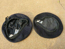 AUSTRALIAN ARMY VIETNAM WAR DATED BERETS BLACK ARMOURED AND OTHER