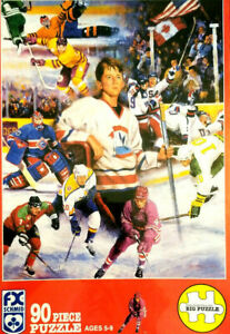Hockey Dreamer Puzzle NEW Seal 90 Pce Schmid Clement Micarelli Big FREE SHIP US