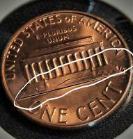 1982 P  Sm. Date Lincoln Memorial Error Coin