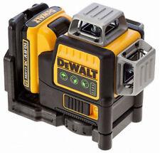 DeWALT DCE089D1G Self Levelling Cross Line Laser 10.8V Green Beam x3 360°