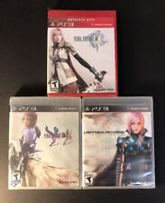 Final Fantasy XIII Collection [ 1 + 2 + Lightning Returns ] (PS3) NEW