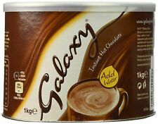 Galaxy Instant Hot Chocolate 1kg Choc Tub Large Home Tin Drink Office Supplies