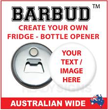 Custom Magnetic Bottle Opener - BARBUD