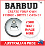 Custom Magnetic Bottle Opener - BARBUD