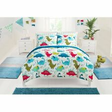 Bedding Sets Twin For Boys Kids Children Sheets Comforter Dinosaurs Bed In A Bag