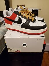 *Ship Now* New Nike By You Air Force 1 Low Id Union Black Toe Ct7875-994 Size 10
