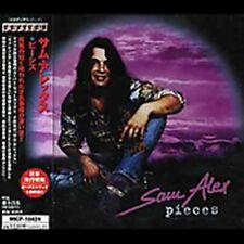 Sam Alex-PIECES + 1 Japon-Import CD!!!