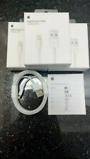 3x ORIGINAL OEM Apple Lightning USB 6FT 2M Cable Charger Iphone 11 X 8 7 plus