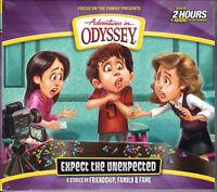 NEW Expect the Unexpected Adventures in Odyssey Album 65 Volume Audio CD Drama