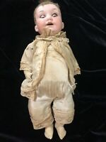 Antique 1900s German Bisque Socket Head Doll Armand Marseille 971 A40M DRGM 267