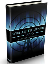 97 Wireless Telegraphy Books on DVD Radio Morse Code Marconi Radiotelegraphy