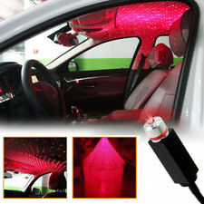 USB Car Interior Projector Atmosphere Lamp Ambient Star Light LED Starry Lamp
