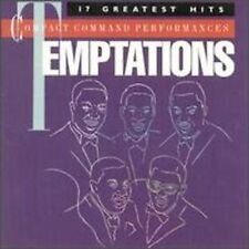 The Temptations 17 Greatest Hits CD 1985 Collectible Like New Not  Music Club CD