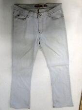 Miss Sixty Tommy Jeans Hose Schlaghose Weiß Stonewashed W30 L32