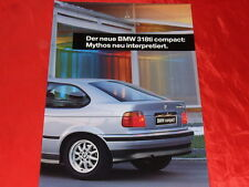 Bmw 3er e36 Compact 318ti folleto de 1994