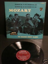 MOZART- BUDAPEST STRING Qt  Philips Maroon 01125 NM